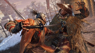 フロム・ソフトウェア/Activision Publishing共同開発の『SEKIRO: SHADOWS DIE TWICE』(PlayStation 4、Xbox One、Windows用)は、2019年3月22日に発売予定だ (c)2018 From Software, Inc. All rights reserved. ACTIVISION is a trademark of Activision Publishing Inc. All other trademarks and trade names are the properties of their respective owners.