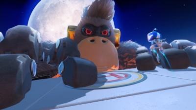 仮想空間で見るボスは巨大で迫力満点 (c)Sony Interactive Entertainment Inc.