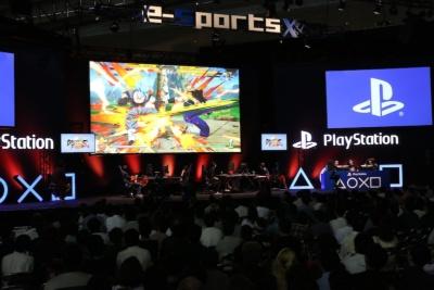 東京ゲームショウ2018の3日目、9月22日にe-Sports X BLUE STAGEで行われた「ドラゴンボールファイターズ 日本一武道会」