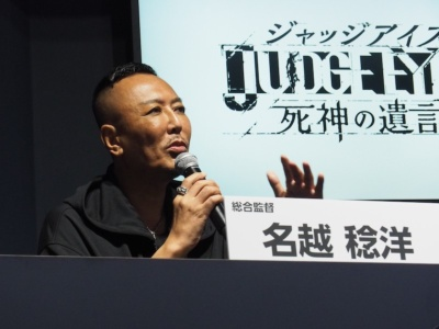 木村拓哉さんを含めた各出演者に関するエピソードなども披露しつつ、新作の魅力を語った名越監督。ステージの最後には9月下旬から放映される15秒のテレビスポットも公開された