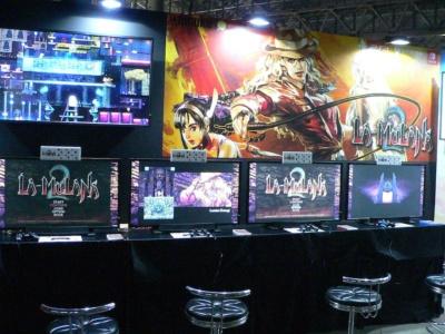 ドット絵で描かれたCGが特徴のアクションアドベンチャーゲーム『ラ・ムラーナ2』