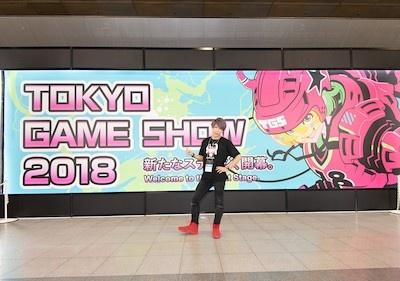 東京ゲームショウ2018のオフィシャルTを~