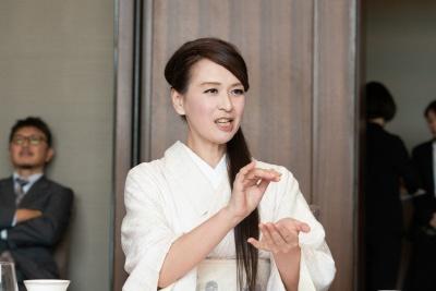 フードジャーナリストの里井真由美氏