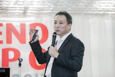 明治 執行役員 菓子商品開発部長 伊田覚氏