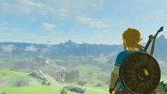 Nintendo Switch用のゲームとして本体と同時に発売される『ゼルダの伝説 ブレス オブ ザ ワイルド』。体験会での一番人気はこれでした (c)2017 Nintendo