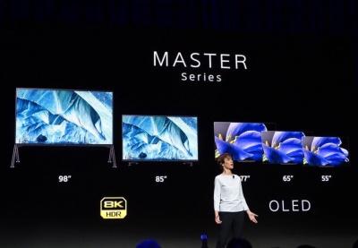 Z9G/A9GはブラビアのトップラインであるMASTERシリーズに君臨する