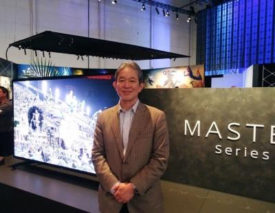 ブラビアの商品企画を担当するソニービジュアルプロダクツ 企画マーケティング部門 部門長の長尾和芳氏