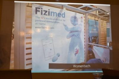 ウィメンテック:「今回ウィメンテックで多かったのが、産後の女性に対する尿漏れケアのデバイスで、4~5社が出展していました。テクノロジーの方向としてよりニッチになっていますね。体内に入れて使うとか、外から刺激を与えるとか、会社によってアプローチが違いました」(岩佐氏)