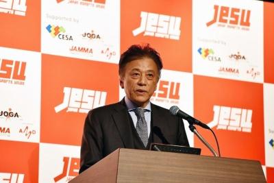 セガホールディングスの社長であり、CESAの会長も務める岡村秀樹氏が、日本eスポーツ連合代表理事に就任
