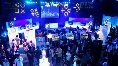「PlayStation祭」では、実際にゲームに触れられるほか、ゲーム大会などのイベントも行われる