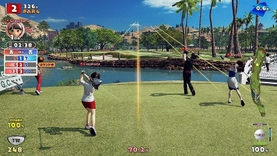 『New みんなのGOLF』 (C)Sony Interactive Entertainment Inc.