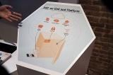 Bento@YourOfficeの概念図。冷蔵庫に3つのモジュールを後付けにするのがポイント