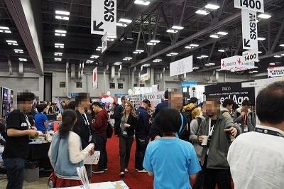 日本の企業・団体集まった「Meet Japan」エリア。30を超える国内の企業・団体が集結した