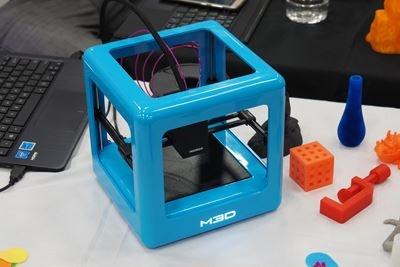 小さくてキュートな3Dプリンター、M3D社の「M3D The Micro」。価格は249ドルからとなっている