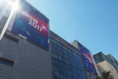網膜に直接投影!? 国内スタートアップの展示を紹介【SXSW2017】(画像)