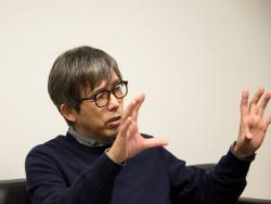 「30年ずっとやってきたのは、才能あるクリエーターに活躍の場を作ること」という石川社長