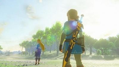ゼルダ姫のため、主人公リンクは災厄を封じる冒険に出る (c)2017 Nintendo