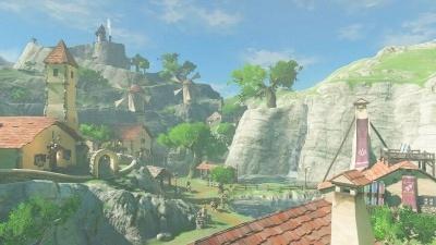 広大な世界には、さまざまな村がある。どの順番で巡っても問題ない。行かなくてもクリアは可能 (c)2017 Nintendo