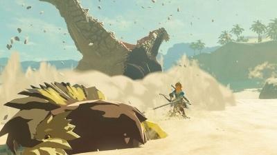 腕に自信があるなら、凶悪な魔物たちとの正面からの戦いを堪能できる (c)2017 Nintendo
