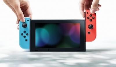 「Nintendo Switch」は据え置き型と携帯型の1台2役。※Nintendo Switchのロゴ・Nintendo Switchは任天堂の商標です