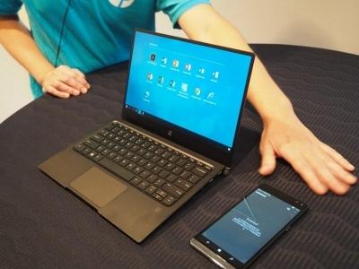 Windows 10 Mobileにも、スマートフォンを専用のドックなどに接続してパソコンのように活用できる「Continuum」が搭載されているが、広く普及するには至っていない