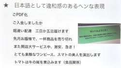 海外から発信された詐欺メールでよく見られるおかしな日本語に着目し、このような表現があるメールには注意すべきと解説する