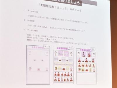 若宮さんが小泉氏とともに仕上げたhinadanのベースとなるゲームの仕様書。アプリで忠実に再現されたのが分かる