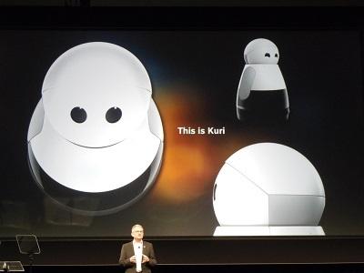 Boschが支援するKuri