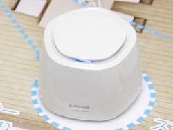 空気中の汚れを測定するPM2.5センサー。単品の希望小売価格は9980円