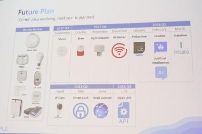 2018年以降、「Philips hue」や「Netatmo」などのIoTデバイスと連携できるようになる