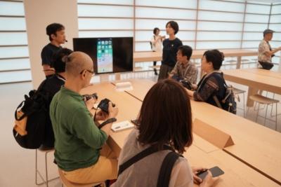 23日のプレビューイベントでも「Today at Apple」を実施