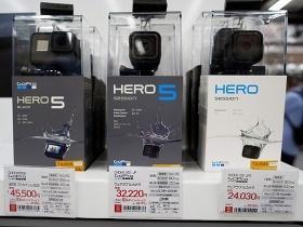 この1年で「GoPro」シリーズを購入する女性客が急増している
