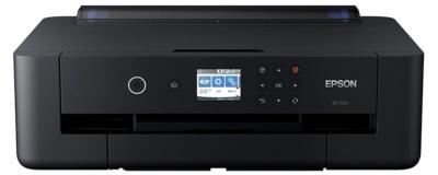 A3ノビ印刷に対応しながらコンパクトな設計の「EP-50V」。実売価格は5万円前後