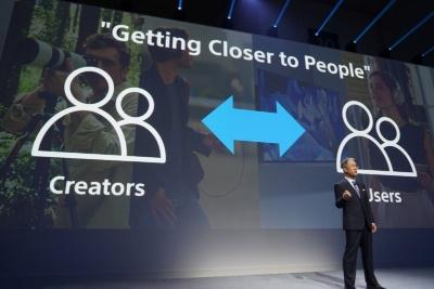 プレスカンファレンスではクリエーターとユーザーを結びつけるというメッセージを打ち出した
