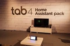 レノボの出展した「Tab 4Home Assistant Pack」