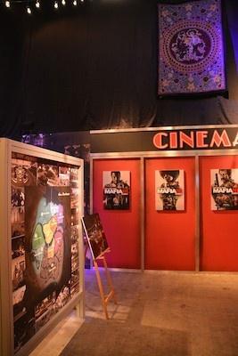 ブース内部は映像とパネルによりマフィア Ⅲを紹介していた