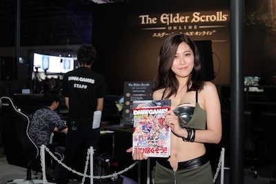 エルダー・スクロールズ・オンラインは、The Elder Scrollsシリーズのオンラインゲーム。初めての人でもブースで楽しめる