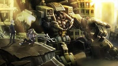 """『十三機兵防衛圏』(販売元:アトラス、2018年発売、価格未定)。""""十三人""""の主人公によるドラマチックアドベンチャー! 80年代の世界を舞台に、「機兵」と呼ばれるロボットに乗り込み運命と戦う (c)ATLUS (c)SEGA All rights reserved."""