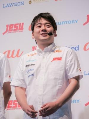 『ハースストーン』部門に出場した赤坂哲郎選手
