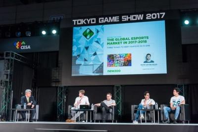 東京ゲームショウ2017の基調講演では、世界的に注目が高まる「eスポーツ」をテーマにディスカッションを開催。日本における状況や課題が話し合われた