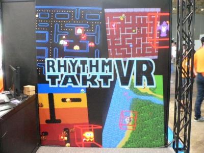 『RHYTHM TAKT VR』のイメージイラスト