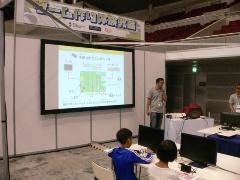 昨年に引き続き、今年もBASICをによるゲーム作り体験教室を開催していた