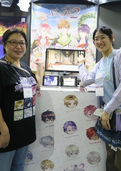 日本の乙女ゲームを徹底的に研究し、台湾初の乙女ガーム『甜點王子』を開発したENJOY PLAYのスタッフ
