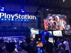 PlayStationでおなじみソニー・インタラクティブエンタテインメントのブース