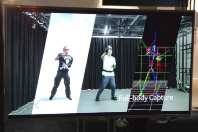 光学モーショントラッキング自体は、以前からモーションキャプチャーなどにも使われている技術だ。現在はゲーム向けの複数人のキャプチャーに活用しているが、今後は全身のキャプチャーにも対応するという