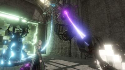 VRタイトルながらも、コンシューマーゲーム並みの映像の作り込みが魅力。当初と比べてビジュアルに力を入れるタイトルが増えてきた