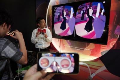 Gugenkaで最新VR・AR技術のアニメ系アプリを楽しもう【TGS2017】(画像)