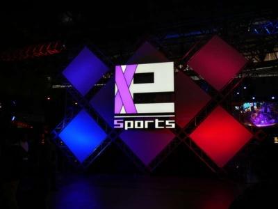 東京ゲームショウ2017では、eスポーツイベント会場「e-Sports X(クロス)」が設置された