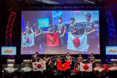 大会後には国際親善試合が開催された。日本、ベトナム、韓国のトッププレーヤーたちによる2on2の総当たり戦だ