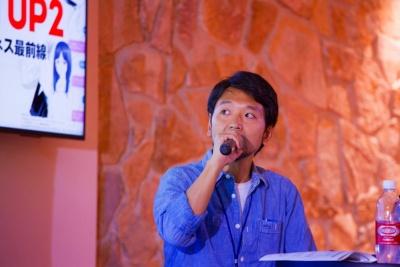 ソニー・ミュージックコミュニケーションズの松平恒幸氏。「OMOHIKANEは、IoTなどを舞台にスマホを飛び出して活躍するようになるのでは」と期待する